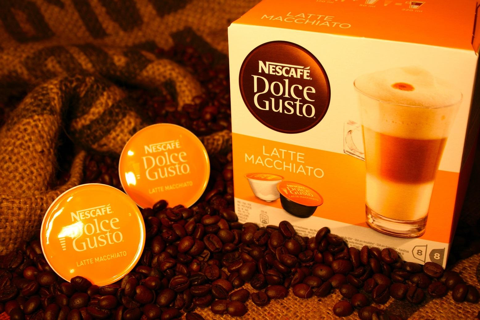 32 latte macchiato nescaf dolce gusto kapseln ebay. Black Bedroom Furniture Sets. Home Design Ideas
